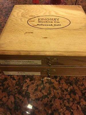 Kingsley Machine 18pt Announcement Roman Hot Foil Stamping Upper & Lower Type