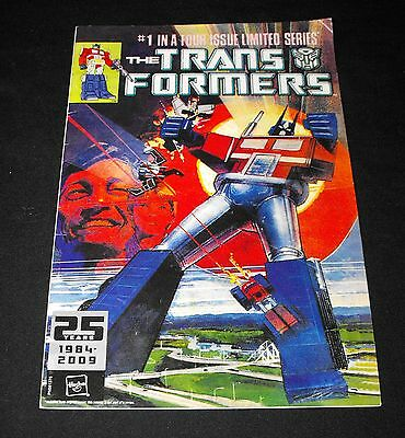 The Transformers Limited Edition #1 in 4 Issue Limited Series 25 Years