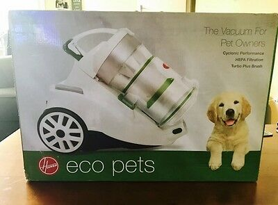 NEW Hoover Eco Pets Turbo Bagless Vacuum RRP $399
