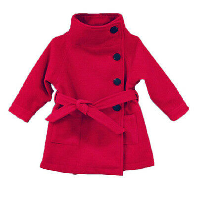 Children Coat Baby Girls winter Coats long-sleeved with Bow girl's warm Bab