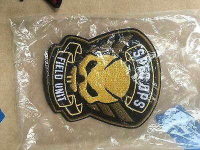 Resident Evil Raccoon City SPEC OPS Field Unit Embroidered Patch, NEW UNUSED