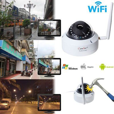 Wireless 720P Security Network Wifi IP Camera 24Leds IR Night Vision Webcam