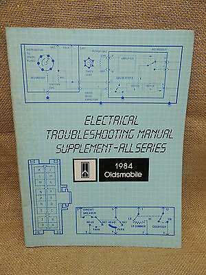 1984 Oldsmobile Electrical Troubleshooting Supplement