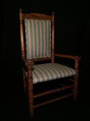 19th Century Carved Wood ARM CHAIR