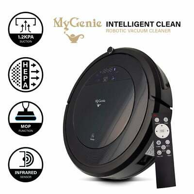 My Genie ZX1000 Robotic Vacuum Cleaner Wet Dry Moping Remote Virtual Wall