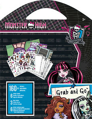 Monster High - Grab and Go Stickers