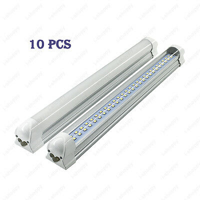10Pcs 30W Integrated Light Tube 168 LEDs T8 Lamp 90cm SMD 2835 Milky/Clear Cover