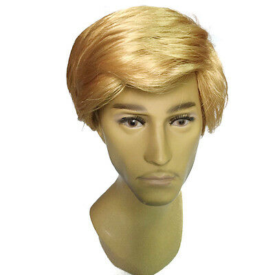 COS Donald Trump Wig Costume False Hair Accessory Billionaire Candidate Fancy