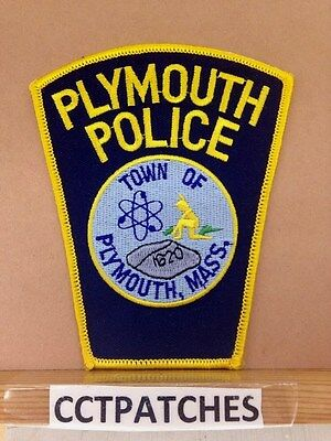 Plymouth, Massachusetts Police Shoulder Patch Ma 2