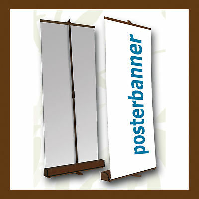 ROLL UP Display BAMBUS inklusive DRUCK 85 x 200 cm