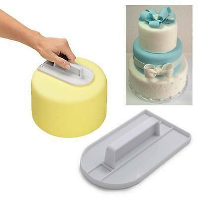 Cake Fondant Smoother Paddle And Icing Finisher For Cake Decorating!