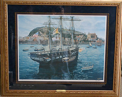 """""""Ship of State"""" Tom Freeman Limited Edition Print Signed - Framed - With COA"""
