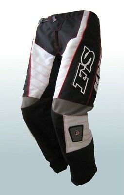 CHILDRENS PANTS MX MOTORCROSS BLACK FREE FREIGHT AND GLOVES(size22,&28)