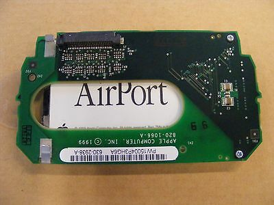 Apple iMac G3 Wireless Card Holder 820-1066-A and Airport Card 825-4593-A