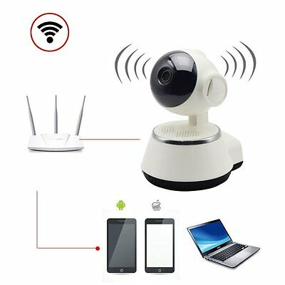 HD Wifi Wireless Network V380 IP Home Security Surveillance Camera Night Vision