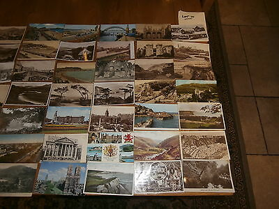50 Old vintage postcard collection  places people scenery lot 10