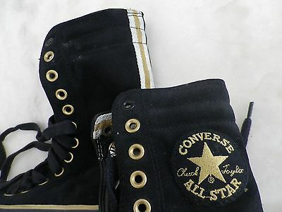 CONVERSE ALL STARS noir et or, TBE pointure 37
