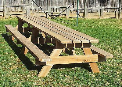 Picnic Table - 3.6m Outdoor Table - Treatrd Pine