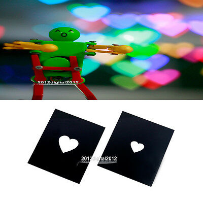 Bokeh Masters Kit by DIY Photography Unique Special Effects System heart-shaped