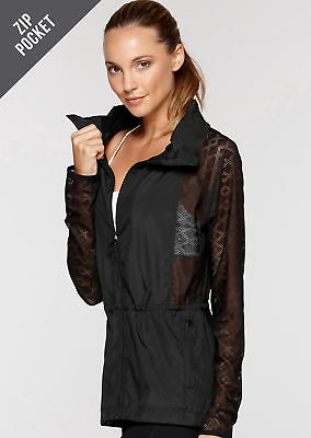 NEW Womens Lorna Jane Activewear   Hybrid Active Jacket