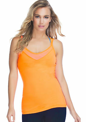 NEW Womens Lorna Jane Activewear   Wrap Me Up Excel Tank