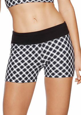 NEW Womens Lorna Jane Activewear   Check Me Short Tight