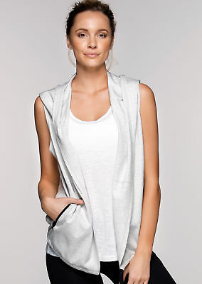 NEW Womens Lorna Jane Activewear   It's A Wrap! S/Less Jacket