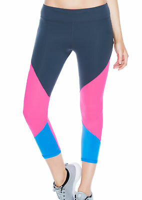 NEW Womens Lorna Jane Activewear   Sporty Splice 7/8 Tight