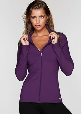 NEW Womens Lorna Jane Activewear   Warm Down L/Slv Zip Through