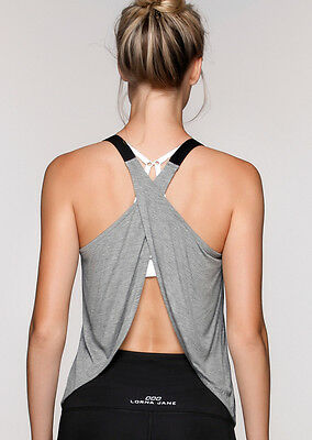 NEW Womens Lorna Jane Activewear   Time Trial Tank