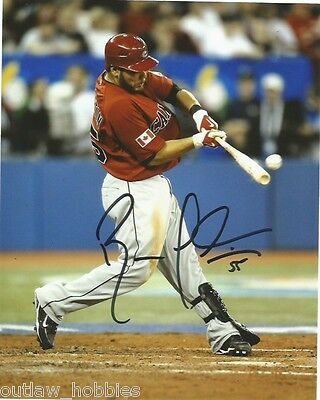 Team Canada Russell Martin Signed Autographed 8x10 Photo COA A