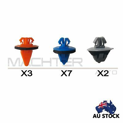For Toyota Prado120 Front Door Trim Body Moulding Repair Kit Flare Panel Clips