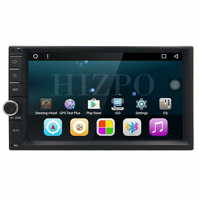 """GA2162 2Din 7"""" Android 6.0 Car Stereo 1024x600 GPS Nav System BT Touch WiFi 3G B"""