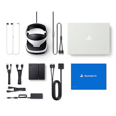 BNIB PlayStation VR + PS4 Console Bundle Package