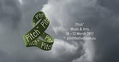 2017 Pitch music festival tickets x 2