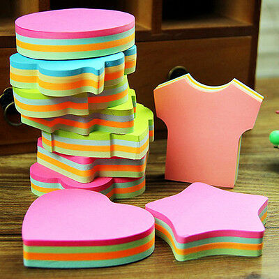 100 Pages Index Sticker Marker Post-It Note Bookmark Shape Memo Tab Flags Sticky