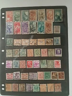 stamps old italian  used - lot 2
