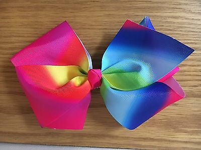 """Rainbow Bow 8"""" Bow No Reserve 1 Day Auction"""