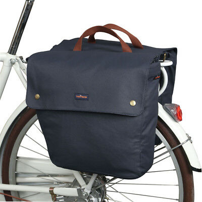 Tourbon Bike Double Panniers Cycling Saddle Bag Rolled-Up Seat Waterproof in AU