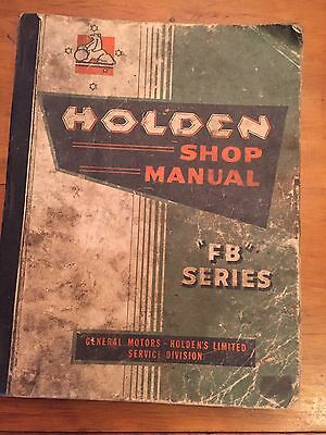 Holden Shop manual FB series