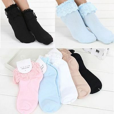 5 Pairs//Set Baby Boy Girl Lovely Cotton Ankle Socks Kids Soft Newborn-5T #YX
