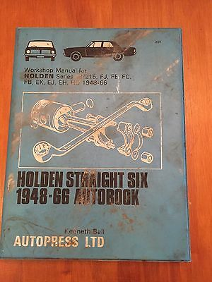 Holden Straight 6 1948-66 Autobook