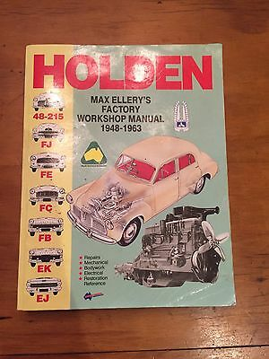 Holden Workshop Manual 1948-63