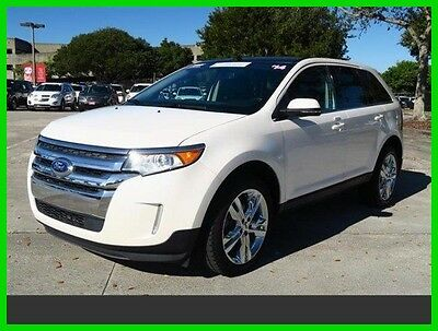 2014 Ford Edge Limited 2014 Edge 2014 Limited Used Certified 3.5L V6 24V Automatic FWD SUV Edge white