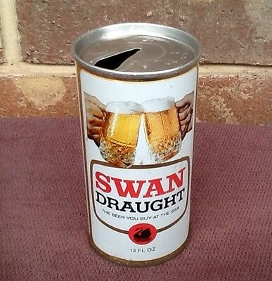 13floz  SWAN DRAUGHT BEER CAN