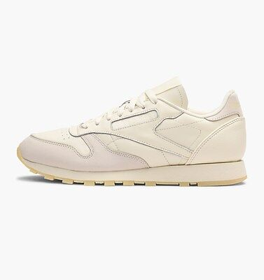 REEBOK CLASSIC LEATHER Butter Soft Pack CremeWashed Yellow Uk 8, 9, 10, 11
