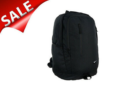 Nike All Access Soleday Rucksack Backpack Freizeit Sport Schwarz BA4857 001