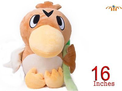 Soft toy Farfetch'd Pokémon 40cm big XL