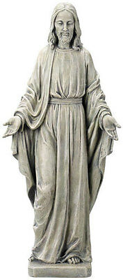 Large Sacred Heart Of Jesus Statue Really Beautiful Grave Ornament Others Listed