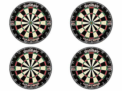 Modern Winmau Masters Bristle Dartboard Organisation with Cliple II wire System